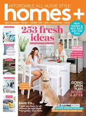 Homes Plus magazine cover