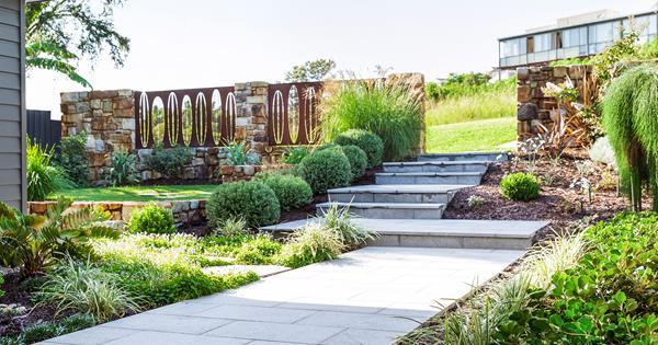 How To Maximise A Sloping Garden   Australian House and Garden