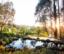 A bushland retreat 30 minutes out of Melbourne's CBD