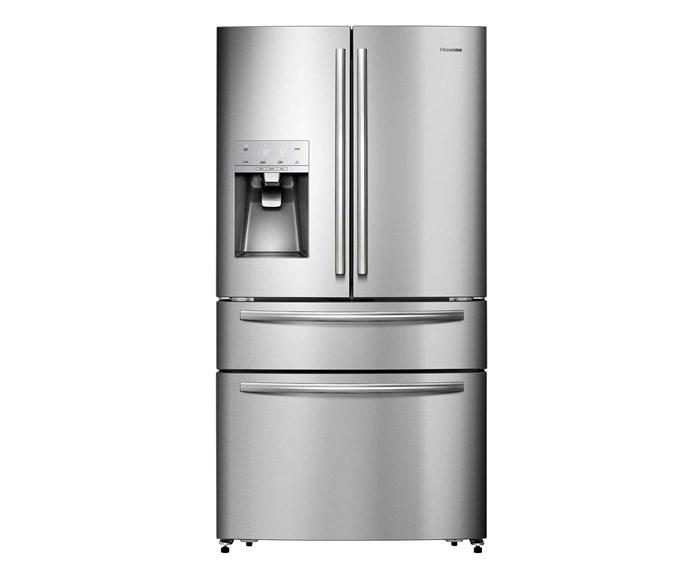 HR6FDFF701SW 701L stainless-steel french-door fridge, $2999, [Hisense](https://hisense.com.au/).