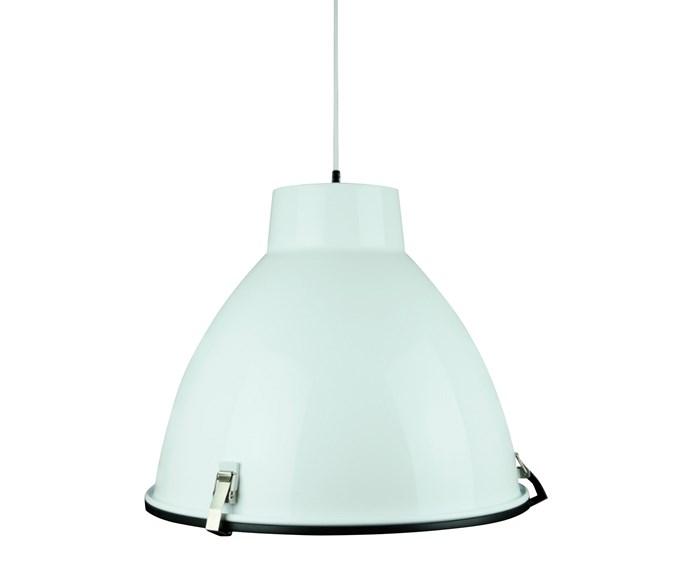 She Lights Orion aluminium pendant, $225, [Zanui](https://www.zanui.com.au/).