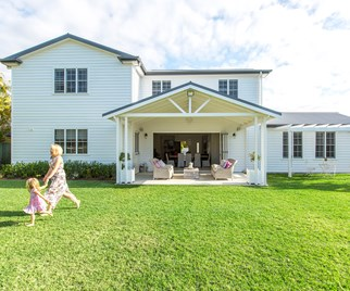 weatherboard house
