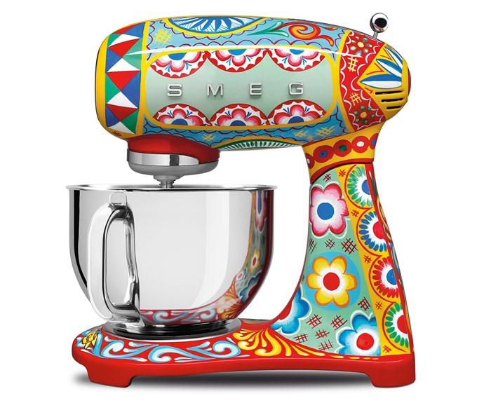 SMEG Dolce & Gabbana stand mixer