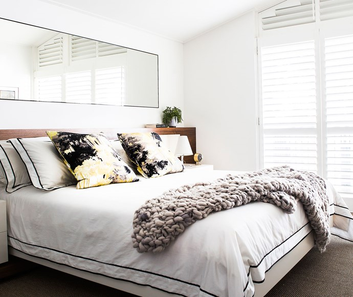 Tailored sheets in neutrals or colours are always on trend. *Photo: Maree Homer*