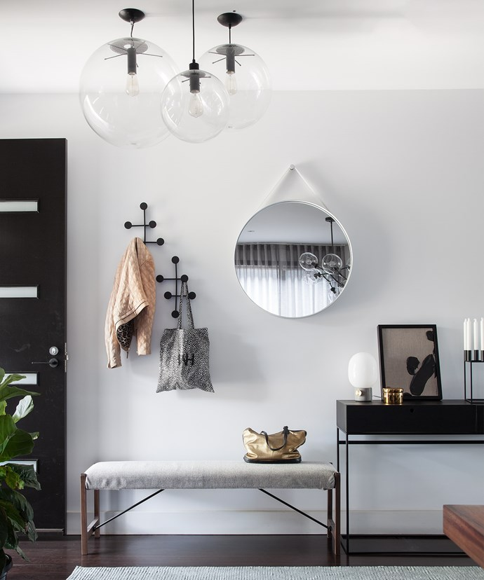 This gorgeous entry was created by Lauren Li of Sisalla Interior Design. *Photo: Tatjana Plitt*