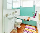 A bathroom renovation for just $2200