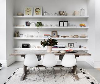 balanced dining room decor