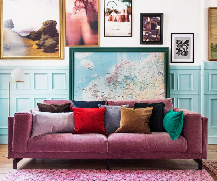 IKEA Nockeby velvet Zaragoza Cover. Photo by *Bemz*