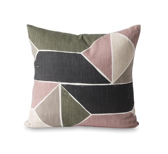 Paso printed cushion cover, $69.90.