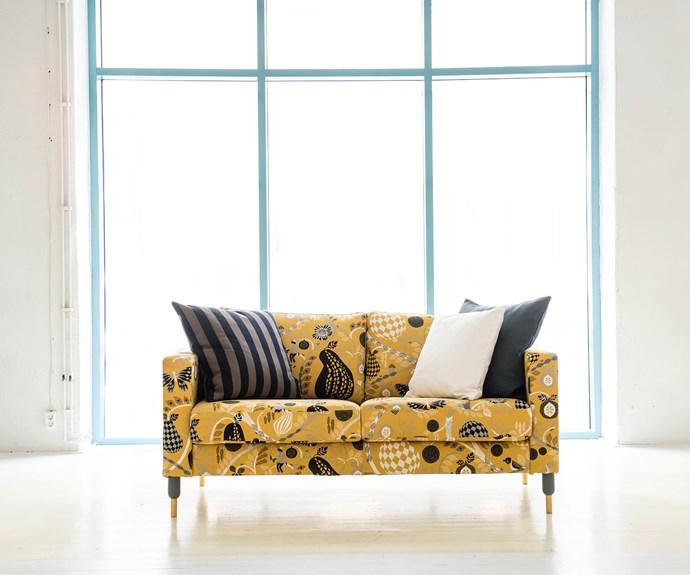 Transform IKEA sofa with custom slipcovers