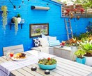 Cool inner-city courtyard makeover