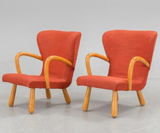 IKEA Clam Chairs from the 1950s