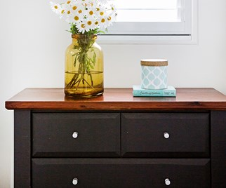 painted drawers