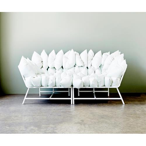 one piece styled three ways ikea sofa homes. Black Bedroom Furniture Sets. Home Design Ideas