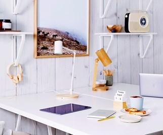 Scandi style office