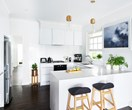 White kitchen renovation by Freedom Kitchens