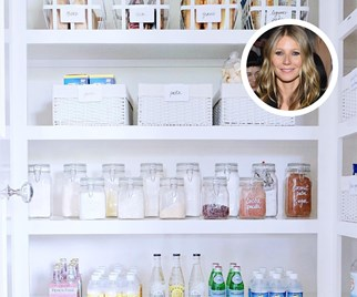 Gwyneth Paltrow pantry