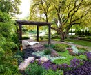 Pure delight: Family-friendly garden layout