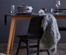 Get the look: dark Scandi dining