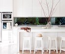 Statement splashback design ideas
