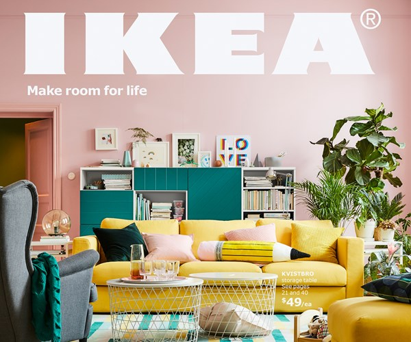 The 2018 IKEA catalogue is here