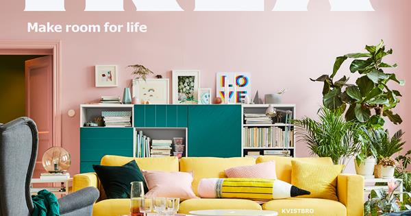 the 2018 ikea catalogue is here homes to love. Black Bedroom Furniture Sets. Home Design Ideas