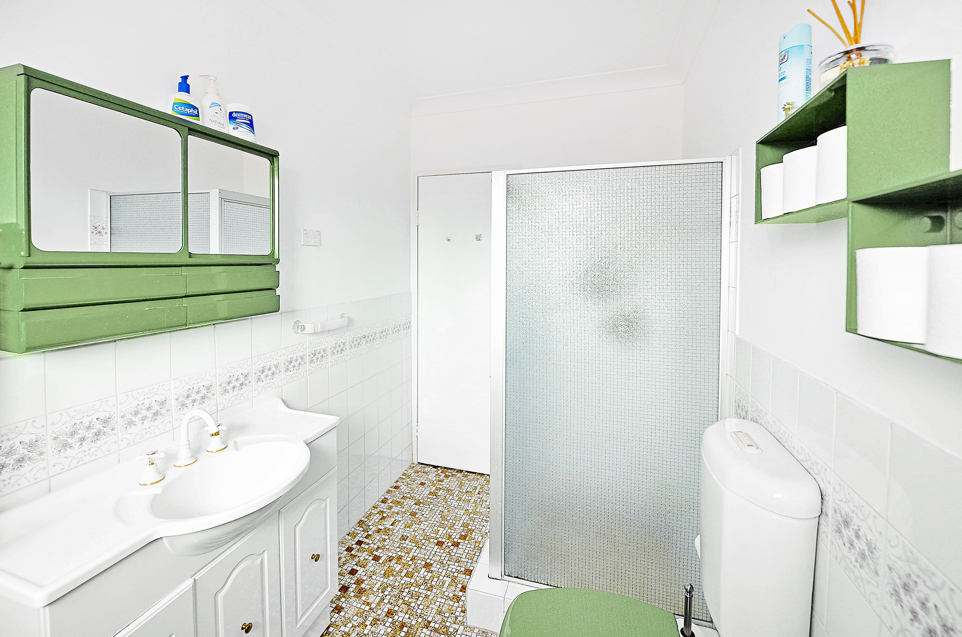 Small bathrooms on a budget