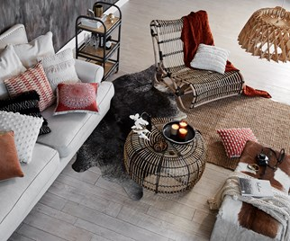 rattan furniture living room