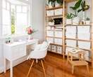 Stylish and affordable home office storage solutions