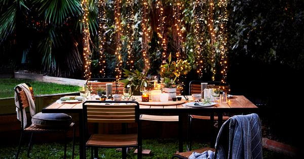 5 Fun Ways To Use Fairy Lights Outside Homes To Love