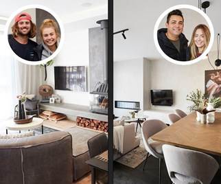The block 2017 living and dining rooms