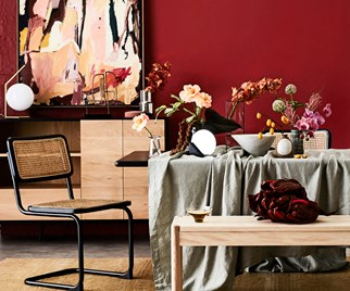 eclectic warmth interior trend