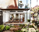 Part weatherboard, part contemporary oasis