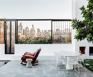 rooftop apartment
