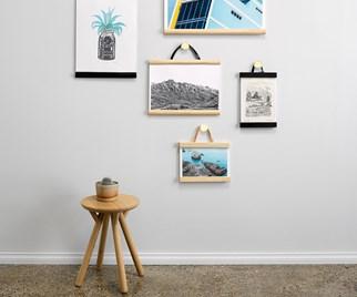 DIY picture hangers