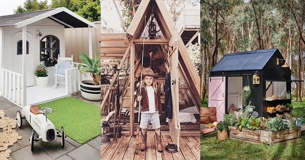 Cute Outdoor Sheds