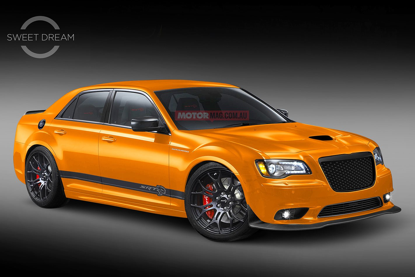 sweet dream chrysler 300 srt hellcat motor
