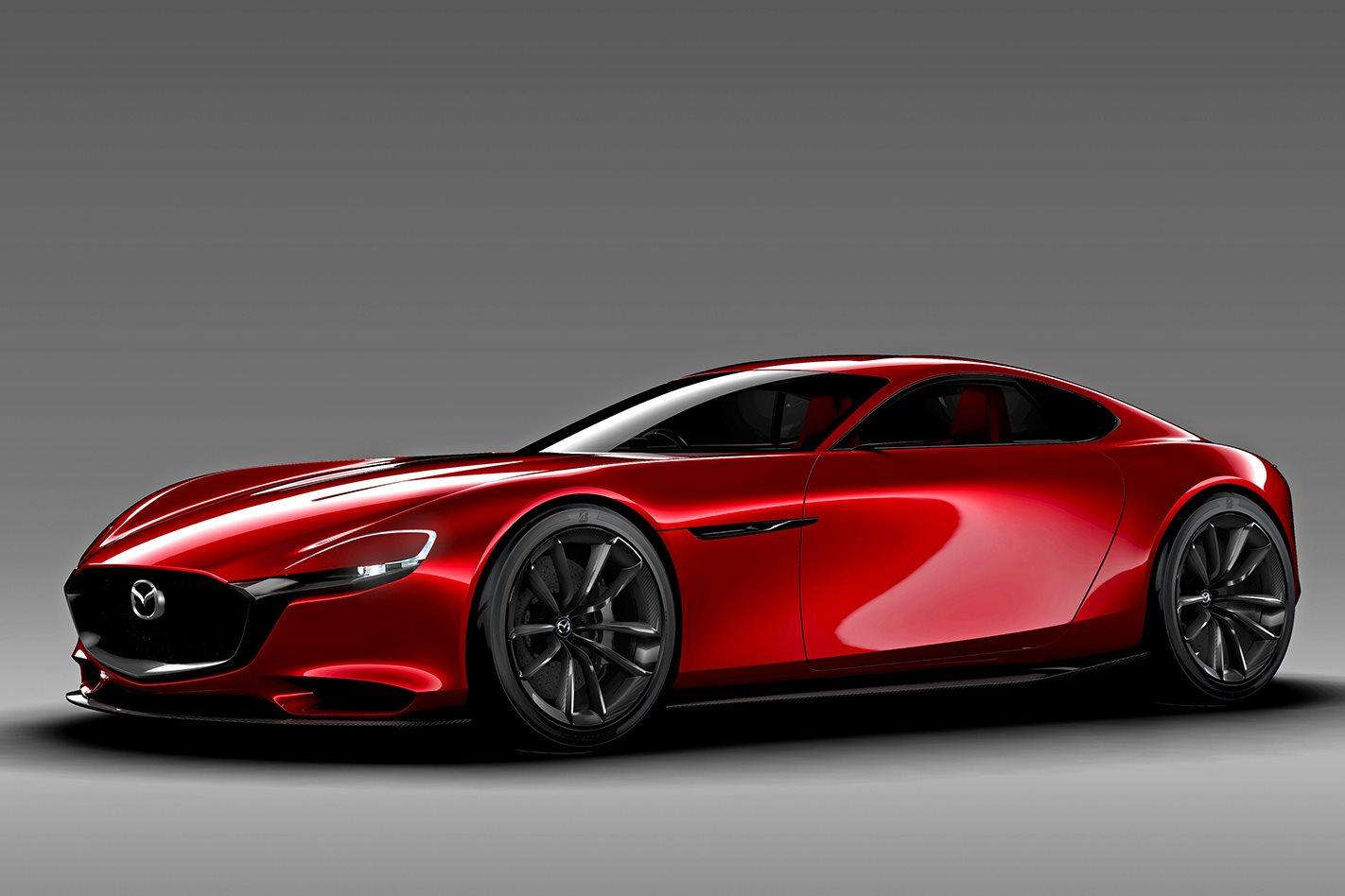 Mazda Rx Vision Concept Motor