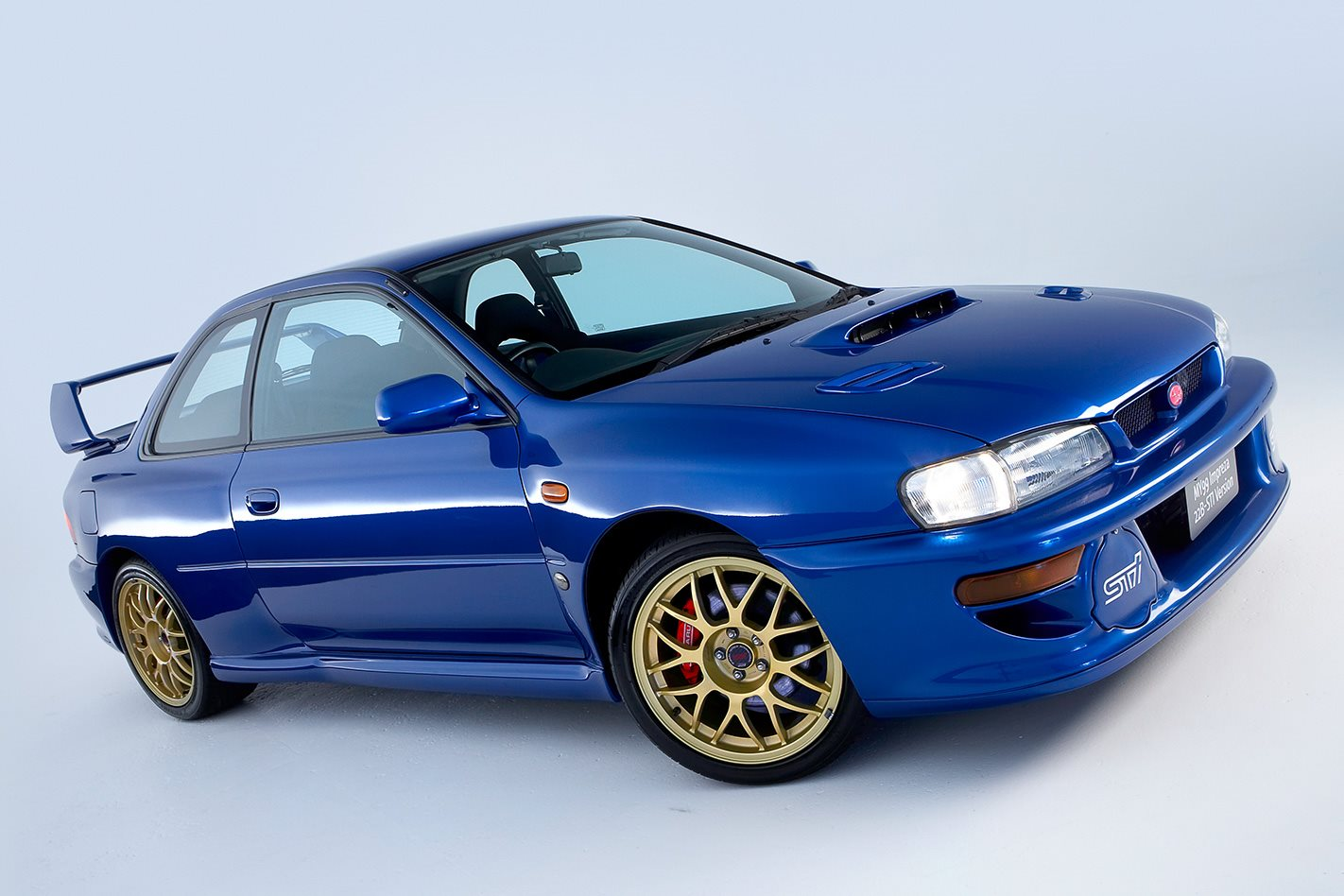1999 subaru 22b sti greatest impreza ever motor. Black Bedroom Furniture Sets. Home Design Ideas