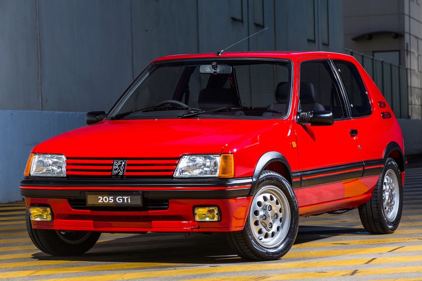 peugeot 205 gti sells for 53 000 motor. Black Bedroom Furniture Sets. Home Design Ideas