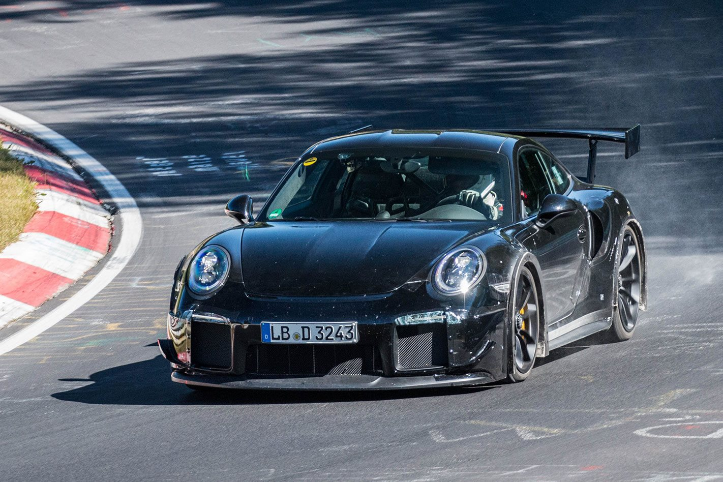2018 porsche 911 gt2 rs spied motor. Black Bedroom Furniture Sets. Home Design Ideas