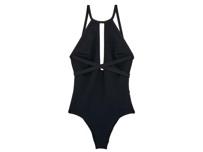 Swimsuit, $229.95, Miléa, milearesort.com
