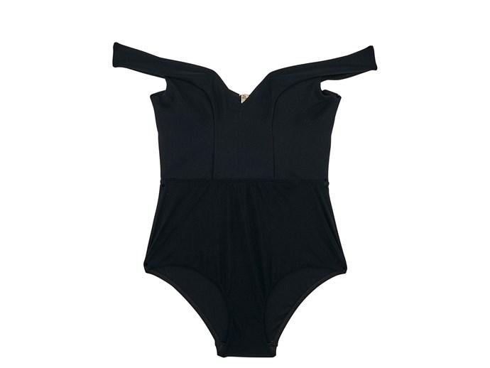 Swimsuit, $350, Zimmermann, zimmermannwear.com