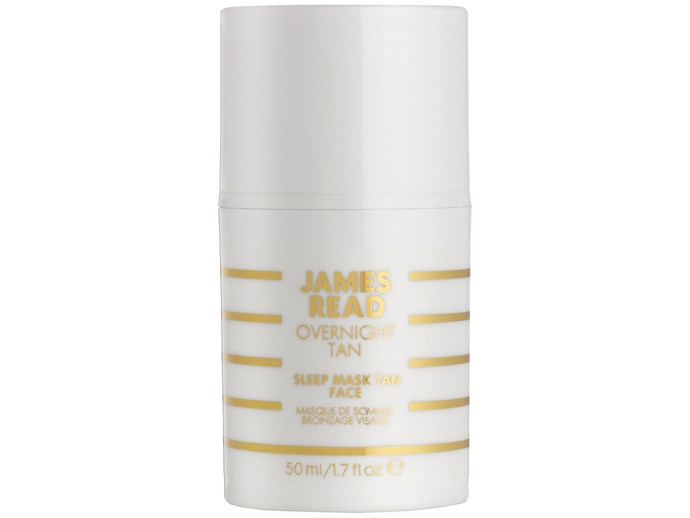 Besides self-tanning while you sleep (best invention ever) this night mask simultaneously moisturises and hydrates with ingredients like aloe vera and hyaluronic acid, yielding a radiant, sun-kissed glow and all while you get some shut-eye. Genius.   [James Read Overnight Tan Sleep Mask Tan for Face, $54](http://mecca.com.au)