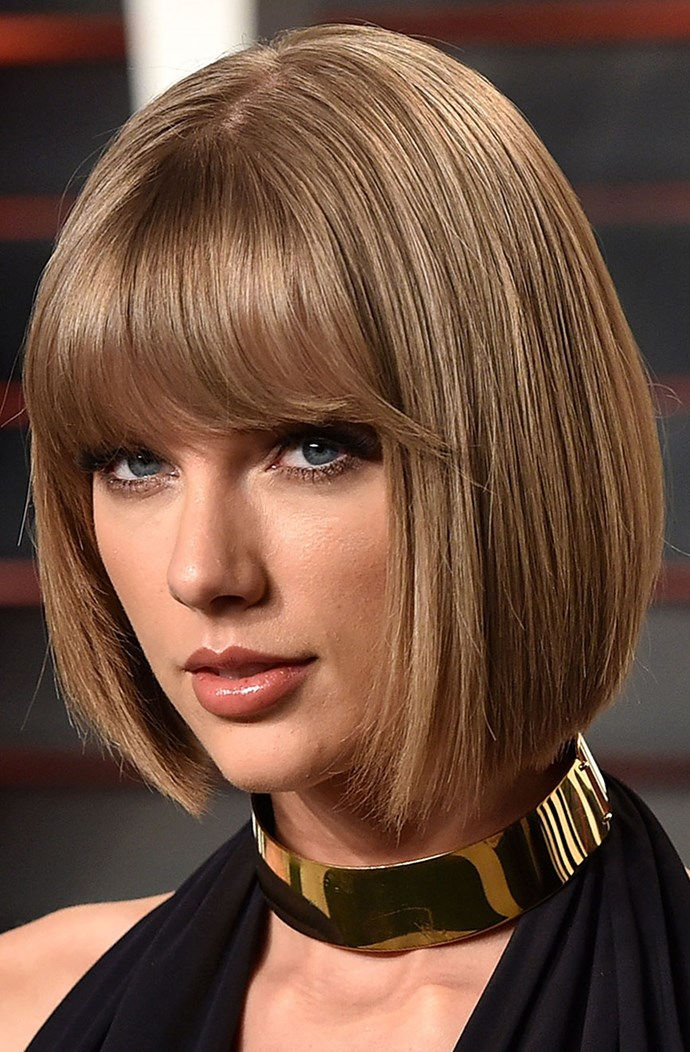 """**THE KEY LOOK... FRINGED SLEEK:** For this look, you'll need your hairdresser to cut your hair in line with your chin to frame the face, says Ward. Apply a moisturising elixir on wet hair and blow-dry using a large round brush. """"This look is the definition of short hair chic,"""" he says."""
