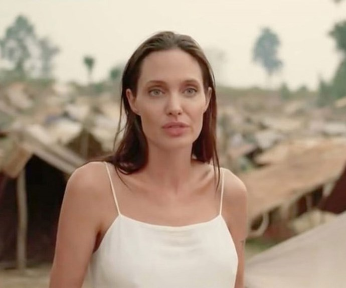 The film is close to Angelina's heart, as her eldest son Maddox was adopted from Cambodia.