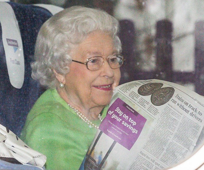 And the 90-year-old seemed to be very happy to return to royal duties!
