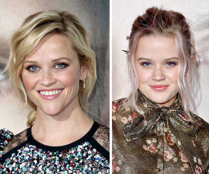 Reese Witherspoon and her daughter Ava are *nearly* identical.