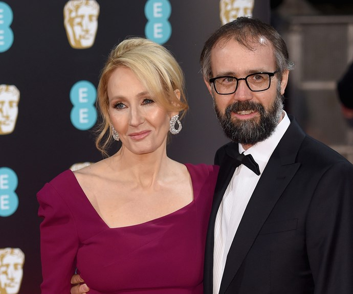 J. K. Rowling and husband Neil Murray make for an adorable duo.