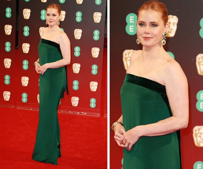 Amy Adams' arrival has us smiling!